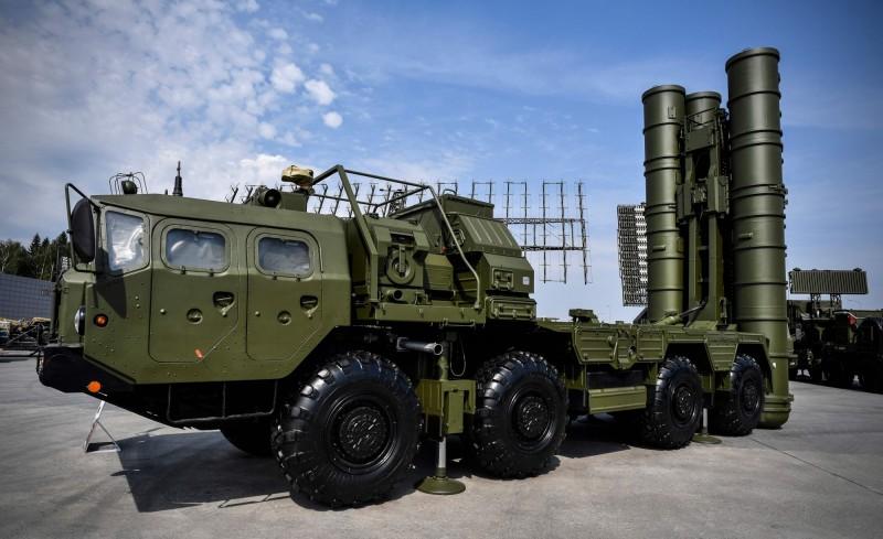 S-400防空導彈系統。(法新社)