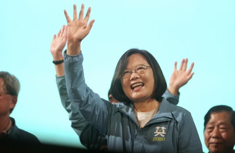 台灣政府近年積極抵禦中國的文攻武嚇。圖為台灣總統蔡英文。(美聯社檔案照)