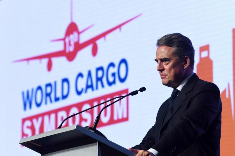 國際航協預估,全球航空客運量要回到疫情之前的水平,得等到2024年才能恢復。總幹事朱尼亞克呼籲各國政府,應該對航空業祭出相關的救濟措施。(法新社)
