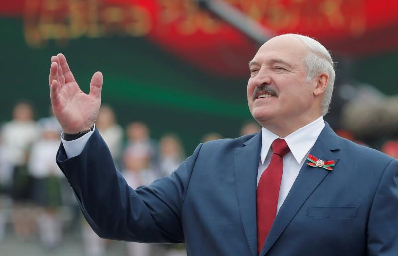 白羅斯總統盧卡申科。(路透)