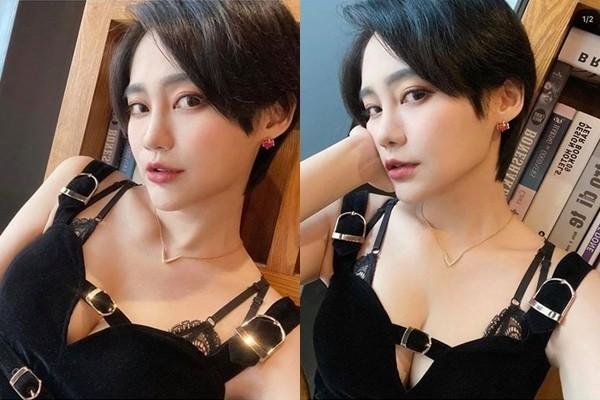 賴品妤昨天在社群媒體貼出2張照片,讓網友相當瘋狂。(圖取自賴品妤Instagram)