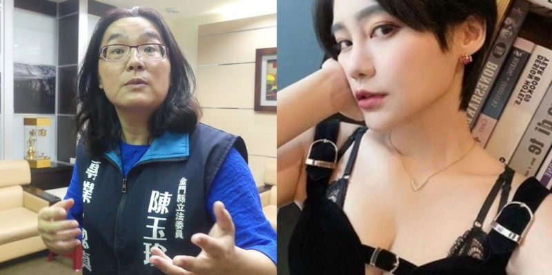 陳玉珍認為賴品妤相當漂亮,改天也要試試看賴的穿著。(左圖資料照,右圖取自賴品妤Instagram)
