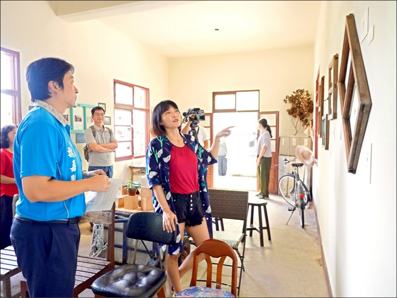 花蓮市公所八月起在介壽村展出「生棄。棄生–我們在這生活的365天」成果。(花蓮市公所提供)