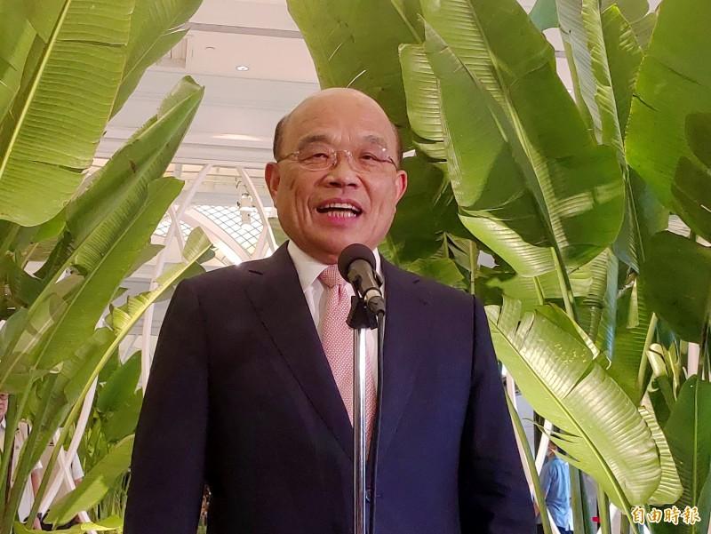 行政院長蘇貞昌表明,因為公視目前對執行此案有不同意見,必須終止公視的委託,尊重公視的獨立性。(本報資料照)