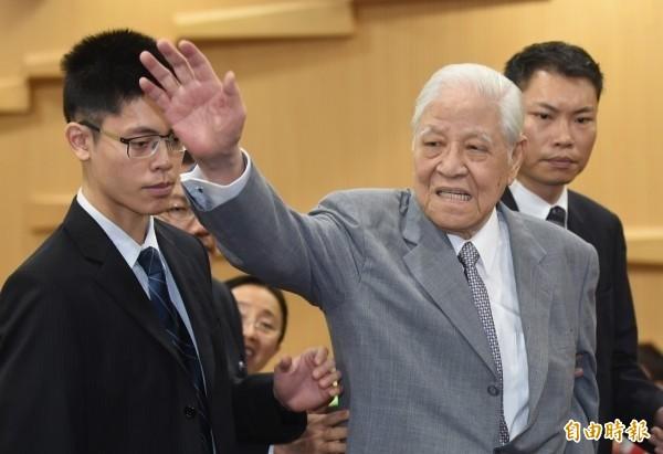 北榮證實前總統李登輝病逝消息。(資料照,記者劉信德攝)