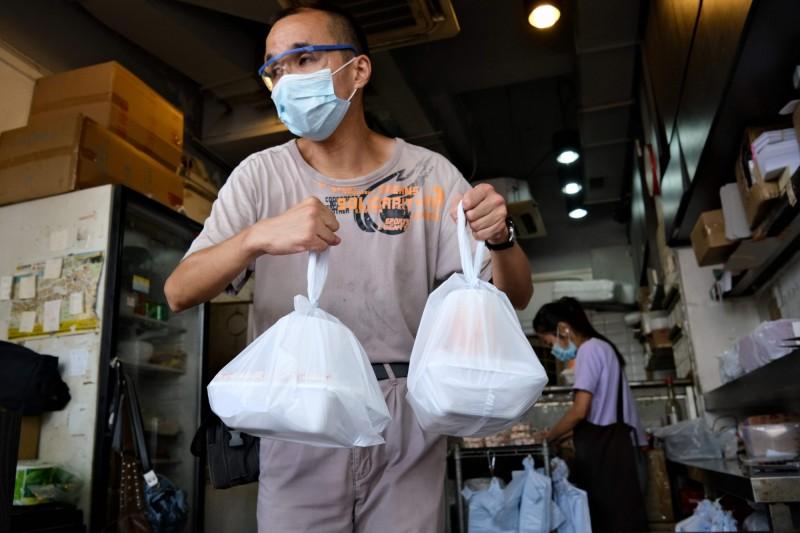 香港武漢肺炎第三波疫情持續惡化,今天(7月30日)新增149人確診,再次刷新自疫情爆發以來單日確診最多紀錄。(法新社)