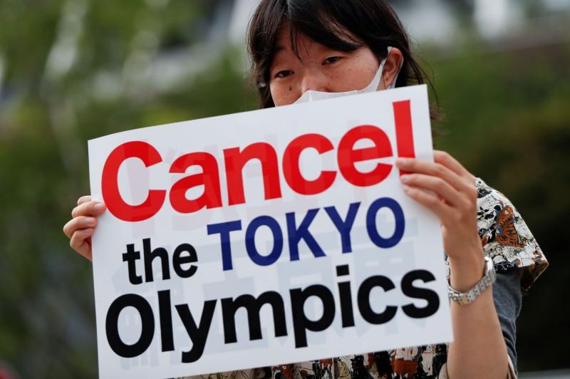 東京奧委會的問卷內容顯示,民眾對於武漢肺炎疫情仍不能放心。(路透)