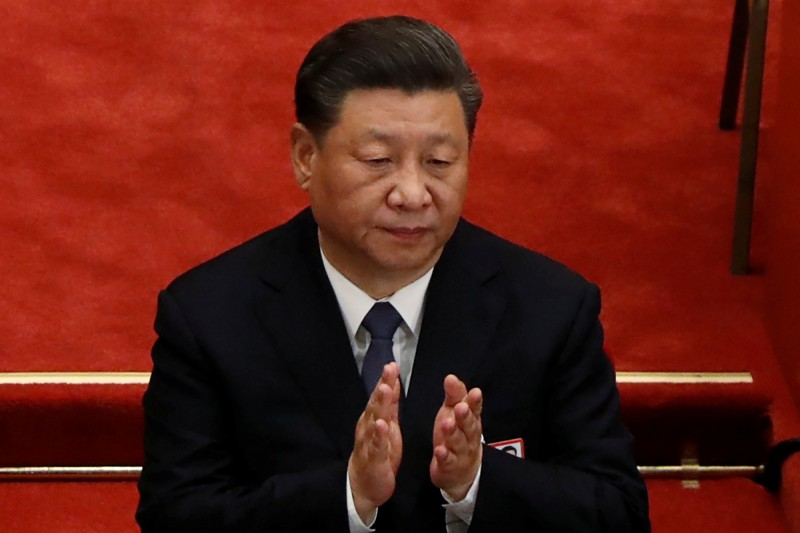 習近平日前在中南海召開黨外人士座談會,聲稱任何國家任何人都不能阻擋中國。(路透)