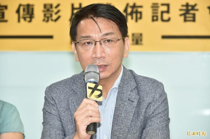 時代力量黨主席徐永明涉嫌在擔任立委期間收受賄款,黨內議員要求他自請停權。(資料照)