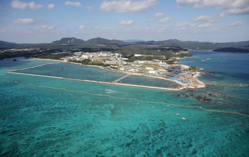 沖繩今日新增72例武肺確診,創下新高。(法新社)