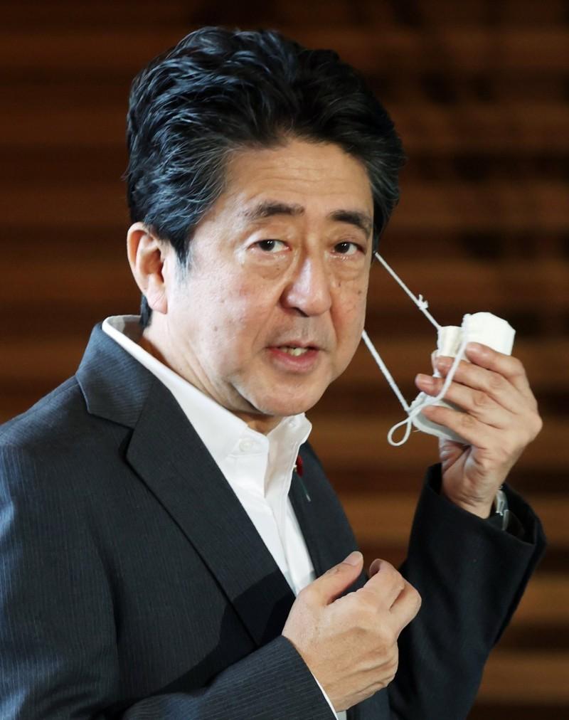 日本首相安倍晉三。(資料照,歐新社)