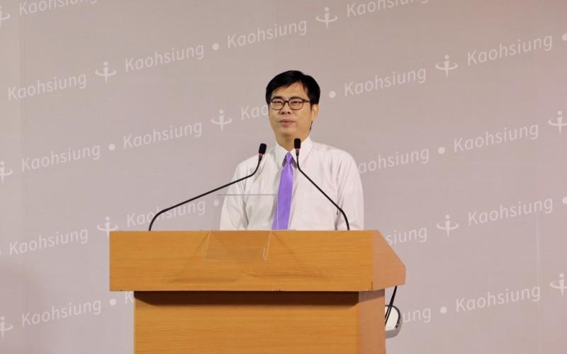 民進黨高雄市長補選候選人陳其邁。(高雄市選委會提供)