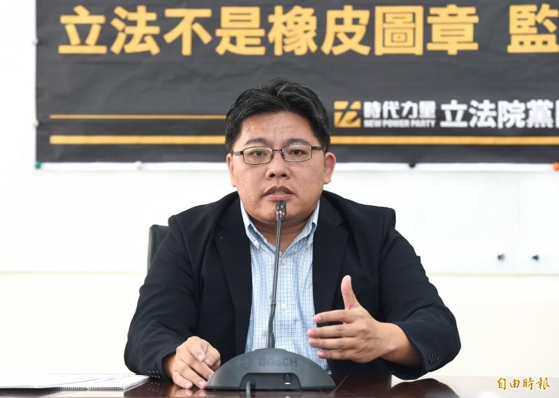 徐永明涉收賄 邱顯智:兩週內提出時力強化反貪具體做法
