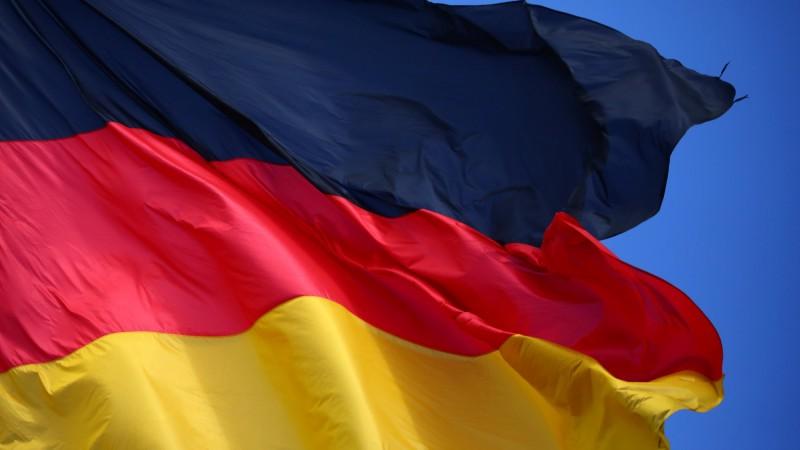 德國宣布中止與香港的引渡協議。圖為德國國旗。(路透資料照)