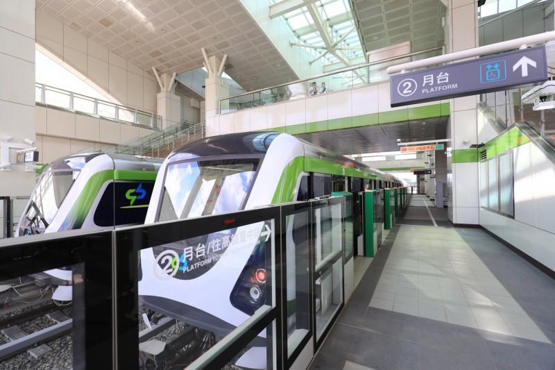 台中捷運綠線將於年底通車,即將啟動的捷運藍線規劃內容備受矚目。(市府提供)