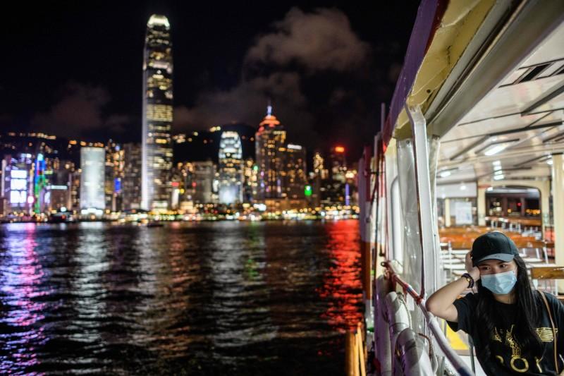 香港武漢肺炎第三波疫情嚴峻,今天再新增115人確診,目前已累計3512人確診,34人死亡。(法新社)