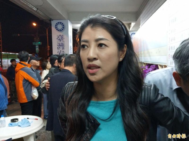 吳佩蓉指控國民黨立委許淑華(見圖)碩士論文涉嫌抄襲。(資料照)