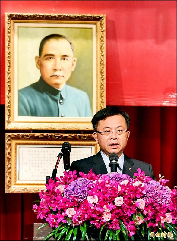 陳耀祥接任NCC主委。(記者羅沛德攝)