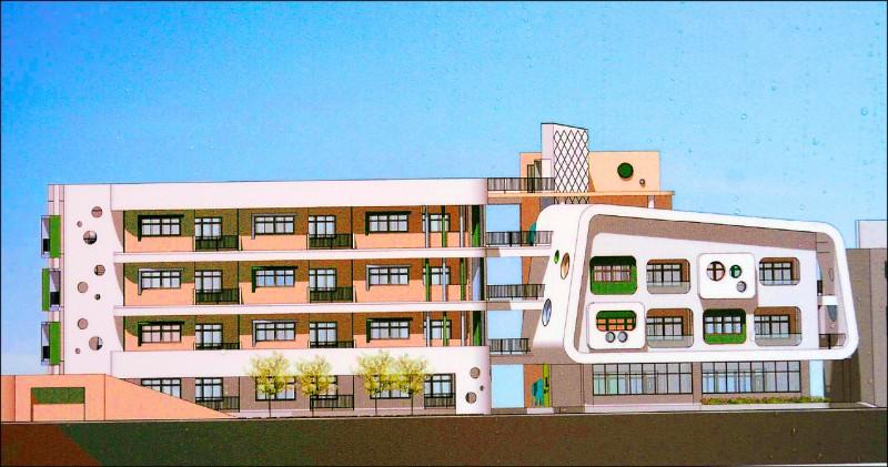 日旭光國小教室不足,昨天舉行二期校舍動土典禮,將興建33間新教室。(示意圖,記者陳建志翻攝)