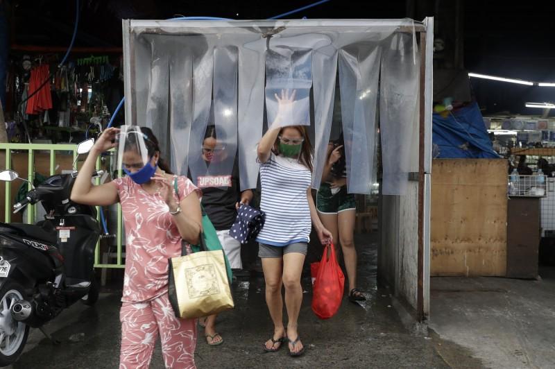 菲律賓今日新增6352例武漢肺炎確診病例,再創單日新高,也是該國在過去6天第5度刷新單日增幅。(美聯社)