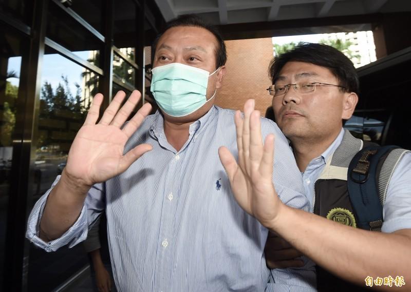 立委蘇震清被裁定收押禁見,民進黨宣布即刻停權。(資料照)
