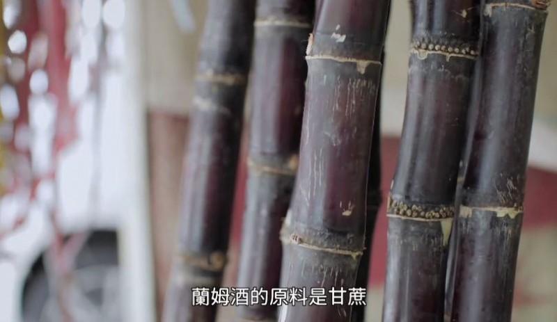 PTT八卦版版主、網紅「四叉貓」劉宇指出,影片中使用的是紅甘蔗,但印象中高雄糖廠的都是「白甘蔗」。(圖擷自李眉蓁宣傳影片)<b>☆飲酒過量  有害健康  禁止酒駕☆</b>