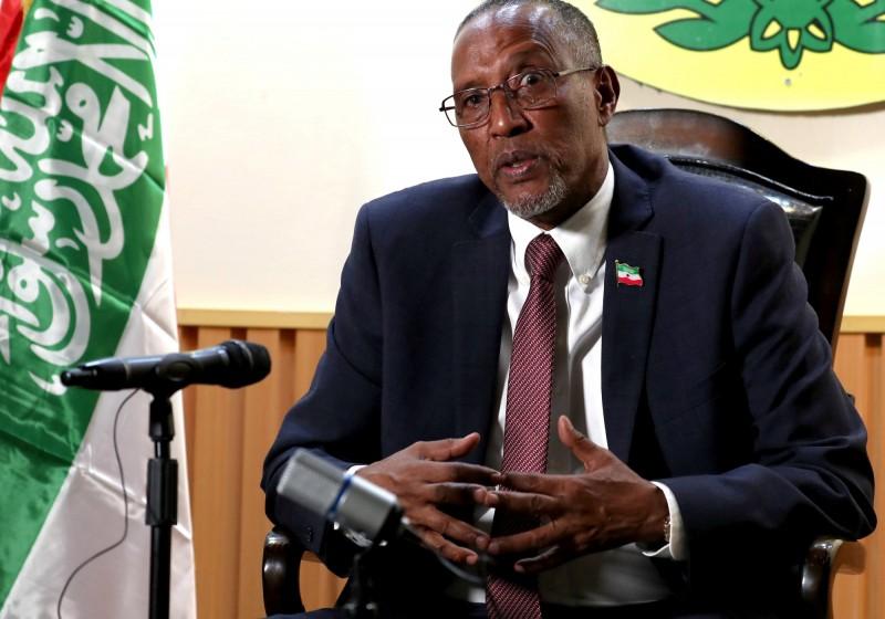 索馬利蘭總統阿布迪(Muse Bihi Abdi)。(路透)