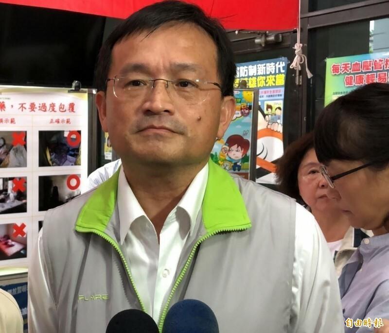 台南市衛生局長陳怡。(資料照)