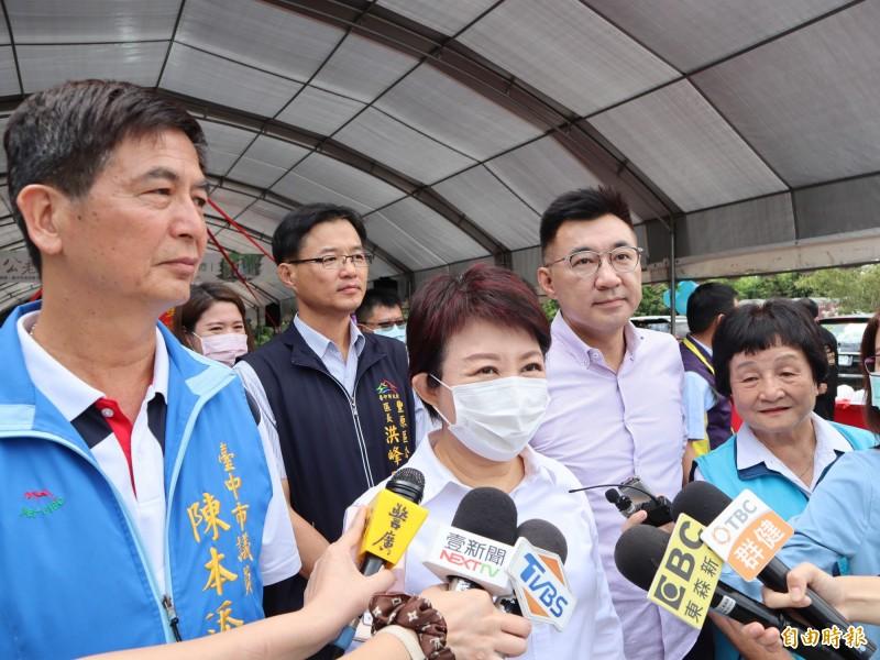 米其林將於本月24日在台中市公布,台中市長盧秀燕對此表示,「我很有信心」! (記者歐素美攝)