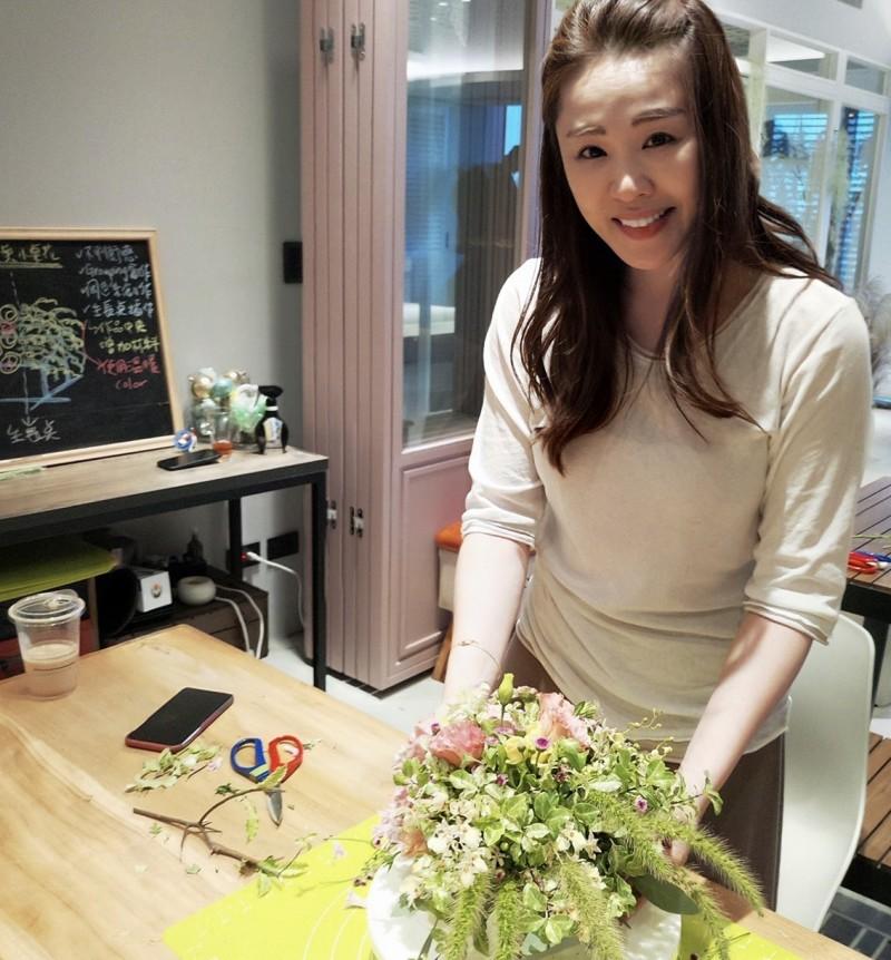 李婉鈺表示,不管最終結果如何,她為台灣打拚的腳步不會停止。(李婉鈺提供)