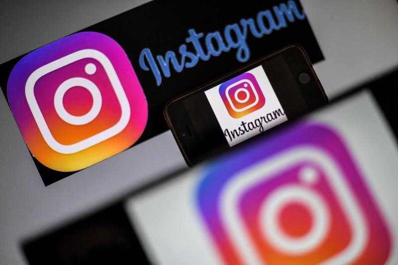 社群媒體Instagram今日在部分國家新增了新功能「Reels」,試圖與TikTok抗衡。(法新社檔案照)