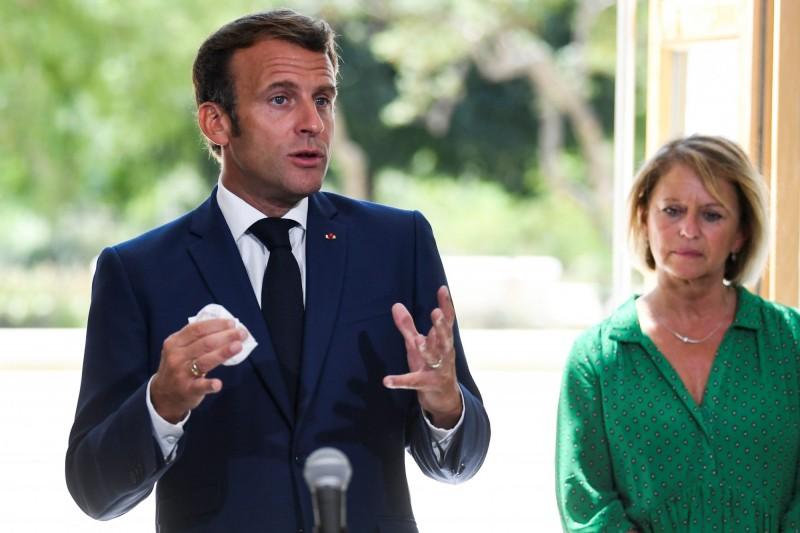 法國總統馬克宏明(6)日將前往黎巴嫩。(法新社)