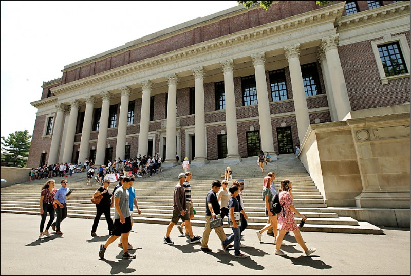 哈佛等六名校曾獲中金援 美眾院要求交出捐贈紀錄