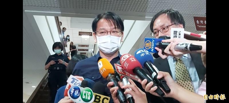 北檢不服徐永明以80萬元交保提出抗告。(記者陳慰慈攝)