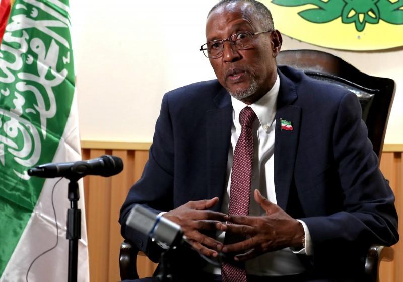 索馬利蘭總統阿布迪(Muse Bihi Abdi)。(路透資料照)