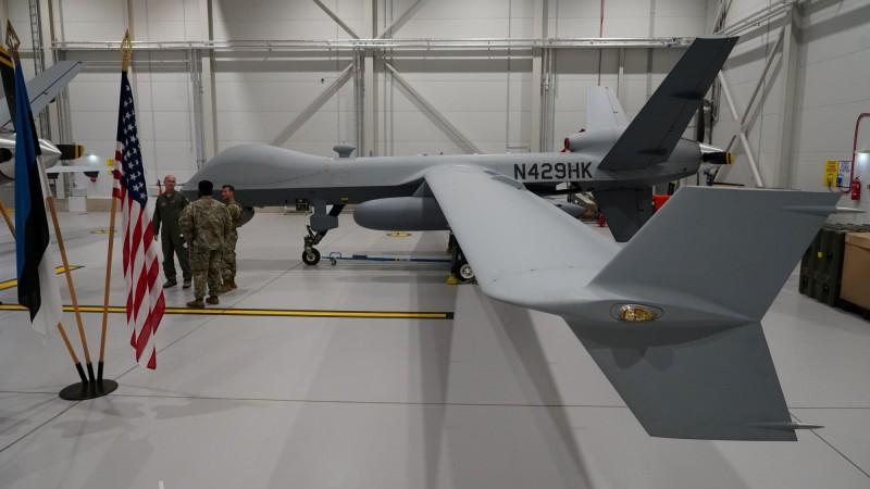 MQ-9死神無人機由美國「通用原子航空系統公司」製造,性能類似於「海上衛士」無人機。(路透檔案照)