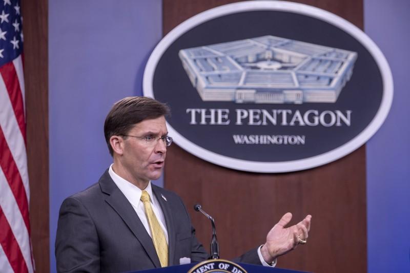 美國國防部長艾斯培(見圖)認為,「該與中國戰鬥時就該戰,而我要確保的是,美國要打就要贏」。(歐新社)