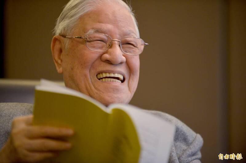 前總統李登輝於今年2月因喝牛奶時嗆到,引發呼吸困難,送往台北榮總就診,病況惡化,於7月30日因敗血性休克及多重器官衰竭辭世。(資料照)