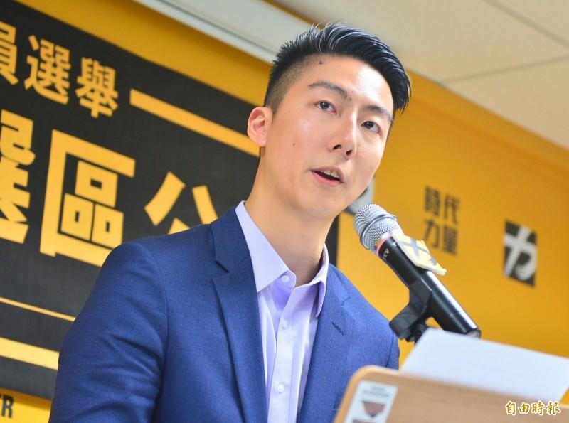 過去曾代表時代力量參選台北市議員的吳崢(見圖)在臉書上向時力黨內及退黨人士喊話。(資料照)