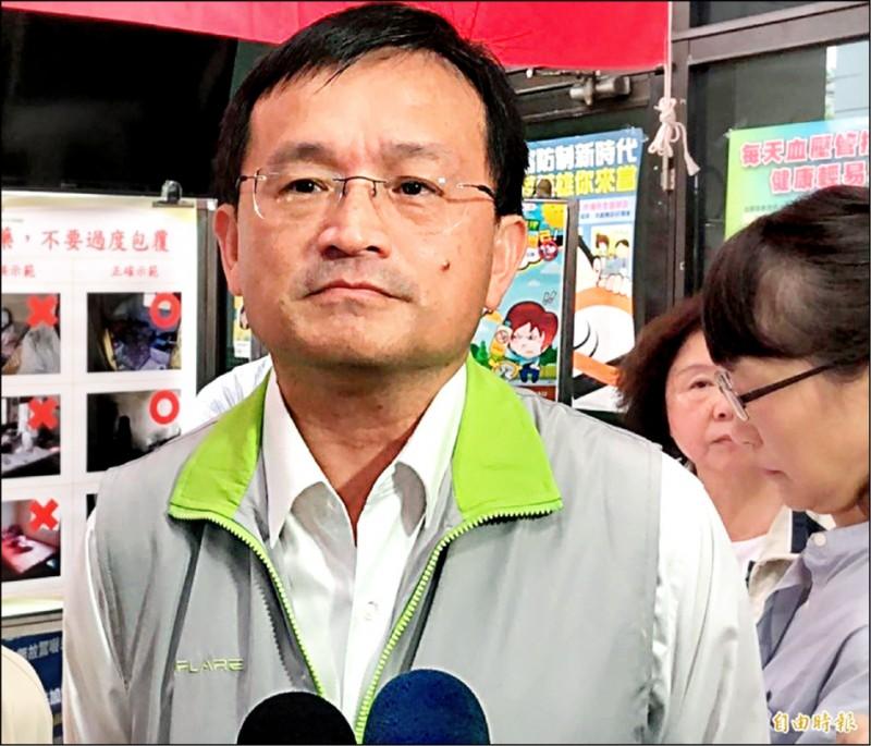 台南市衛生局長陳怡被爆涉及婚外情疑,昨請辭獲准。(資料照)