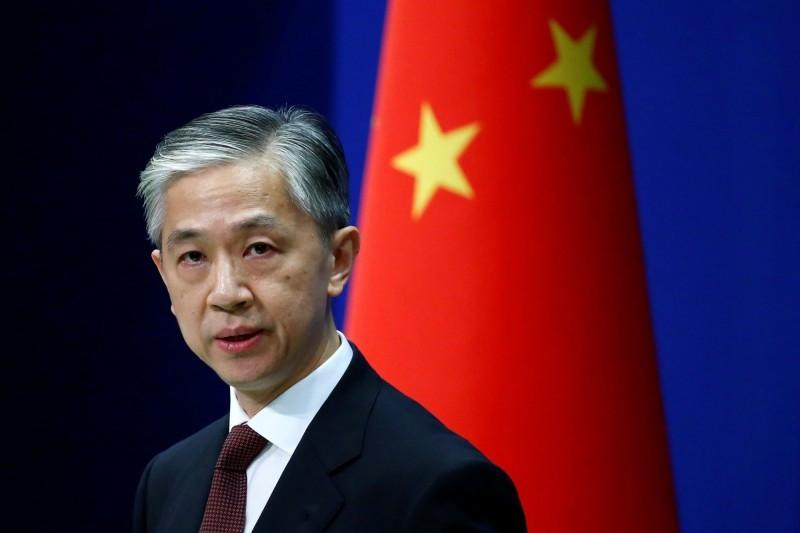 《路透》報導指出,美國政府正打算向台灣出售至少4架「海上衛士」無人機。對此,中國外交部發言人汪文斌今天在例行記者會表示,中方對此堅決反對。(路透資料照)