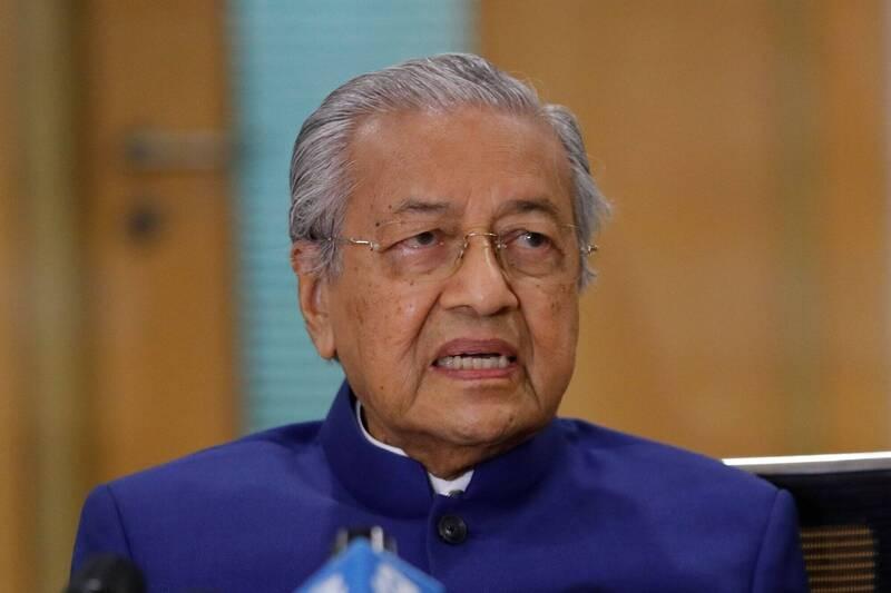95歲的馬來西亞前首相馬哈地,今天宣布成立一個屬於馬來人和土著的新政黨。(法新社)