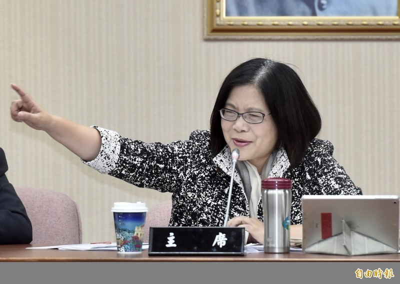 針對李眉蓁的「海水沖馬桶」政見,管碧玲今發文痛批其為「無厘頭」候選人,並要求國民黨向高雄人道歉。(資料照)