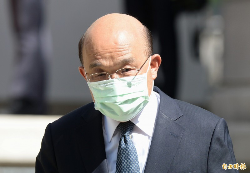 美、日、捷克等重量級訪團將抵台,行政院長蘇貞昌指示做好防疫措施。(資料照)