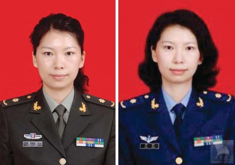 中國女軍官唐娟。(歐新社)