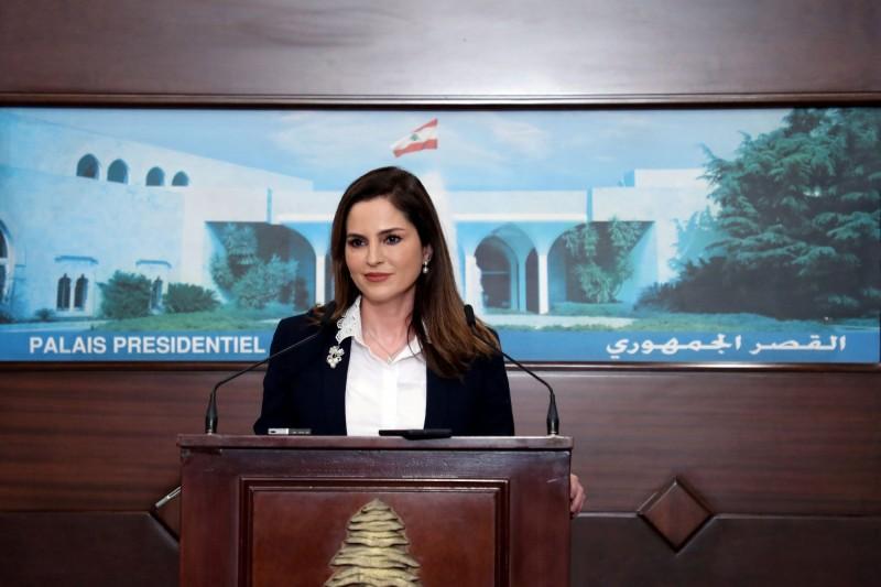 黎巴嫩新聞部長莎馬德(見圖)宣布請辭,以回應民眾改革的呼聲。(路透)