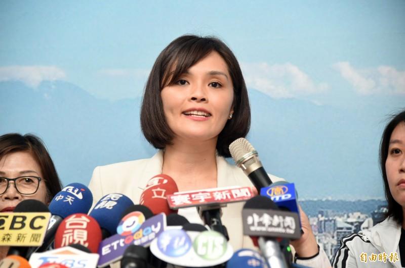李眉蓁7日提出「海水沖馬桶」政見,被發現對高雄來說不合理。(資料照)