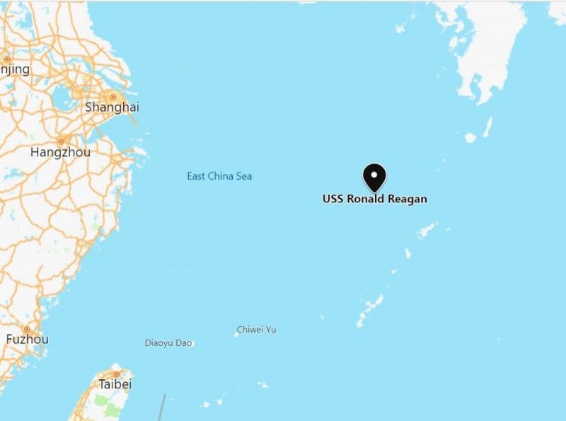 防中國蠢動? 美衛生部長傍晚抵台 「雷根號」航艦東海巡弋