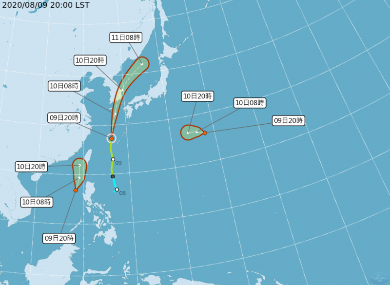 就在恆春家門邊! 熱帶性低氣壓生成 明恐增強為第6號颱風