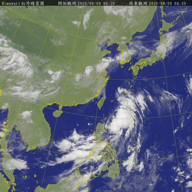 第5號颱風「薔蜜」今凌晨生成 一路直奔北方